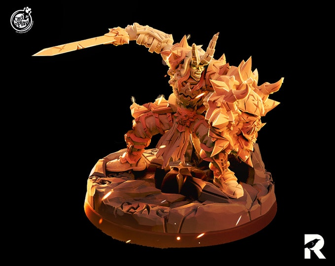 Seth Hellbrow   4K RESIN 3D Printed Tabletop Miniature for Role-playing Games and Collector Displays   Cast n Play