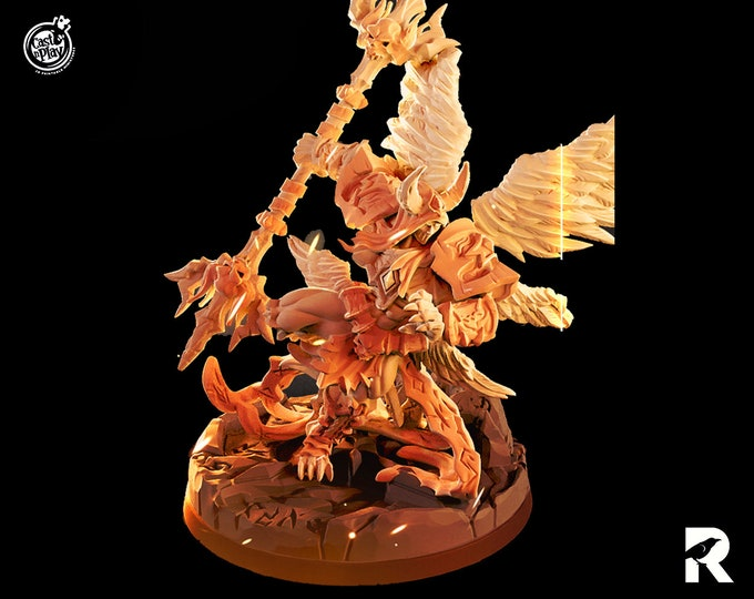 Theo Tusklight | 4K RESIN 3D Printed Tabletop Miniature for Role-playing Games and Collector Displays | Cast n Play