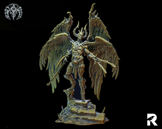 Prince Bekhetur | 4K RESIN 3D Printed Tabletop Miniature for Role-playing Games and Collector Displays | Bestiarum Miniatures
