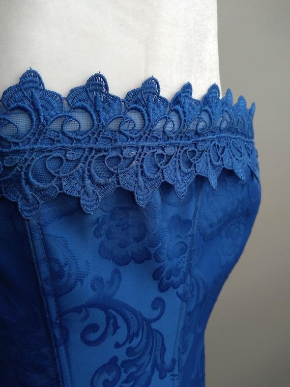 Vintage Y2k Frederick's Of Hollywood Royal Blue L… - image 3