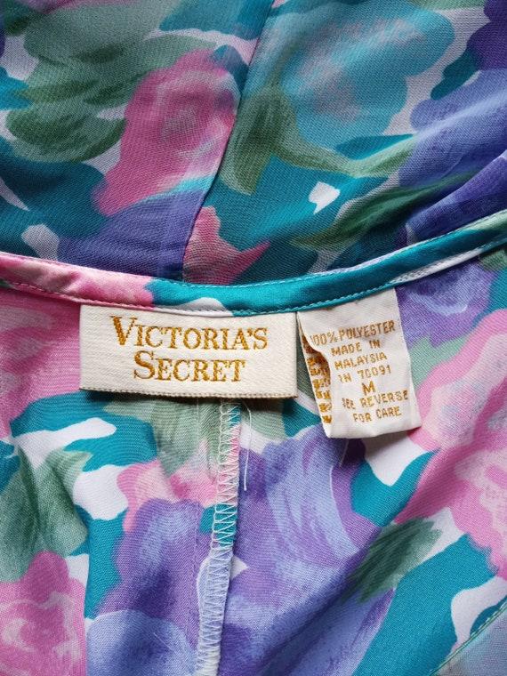 Vintage 80s Victoria's Secret Pastel Watercolor S… - image 9