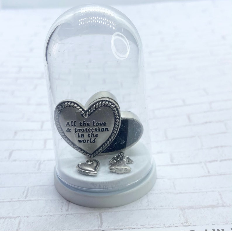 Love and protection dome display special protection Charm Box unique heart charm box gifts