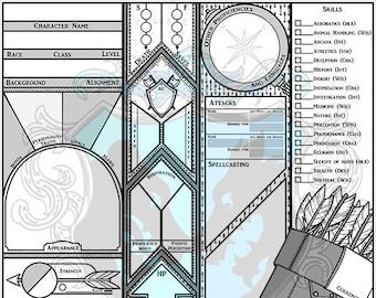 Custom Character Sheet - Ranger/Archer