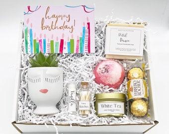 Happy Birthday Gift Box - Friend Birthday Gift Box - Happy Birthday Gift - Birthday Gift Ideas - Succulent Gift Box  - Birthday