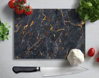 cooking gift anniversary gift Marble effect Chopping Board Kitchen Decor modern kitchen personalised chopping board wedding gift