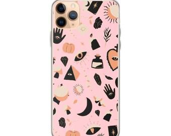 XS Moon Child iPhone 12 Pro Case iPhone 11 Pro Max 8 CaseiPhone Case Witchy iPhone 12 Pro Case