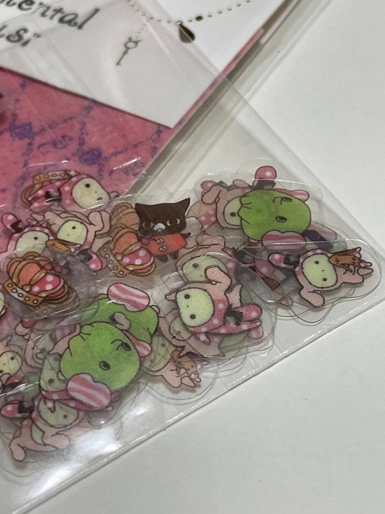 Cute Lovely Kawaii from Japan Free Shipping FS San-X Japanese Design seal cute sticker Sentimental Circusi  2015 sticker