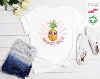Tropical Funky personalised pineapple hoodie baby shower gift baby top pineapple sweatshirt hooded top pineapple party toddler top