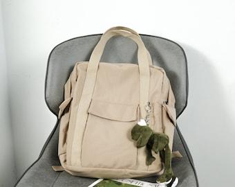 large capacity travel canvas backpack ,large capacity handbag,travel bag,canvas bag, daily bag