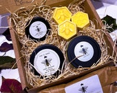 Beeswax Gift Box - Candle, Wax Melts, Hand Save and Lip Balm