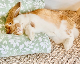 Bunloaf Pillow, Snuggle Bed, Cuddle Bunny Bed