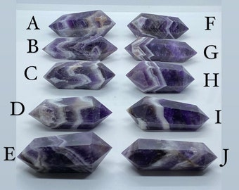 Double Terminated Dream Amethyst