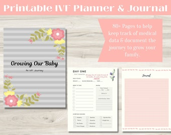 IVF Planner and Journal