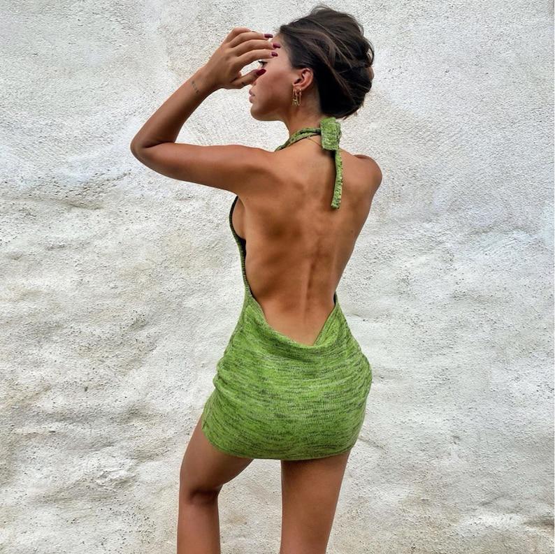 Best Halter Backless Mini Dresses