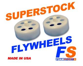 FOAMSPORT Super Stock Acetal Nerfgun Flywheels (Pair)