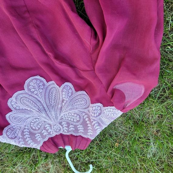 Vintage Victorian styled cottagecore dress - image 4