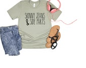 Skinny jeans and Side parts T shirt 90s Millenials shirt old people shirt