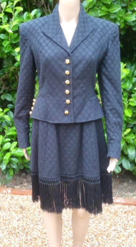 Vintage Valentino Jacket and Skirt Size 10