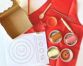 BAKING SENSORY KIT, Fall Baking Kit, Fall Play Dough Kit, Baking Sensory Bin