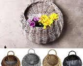This is a compleate srilankan product beautiful flower pot Garden Wall-mounted Flower Basket Large Size Handmade Hanging Rustic flower pot
