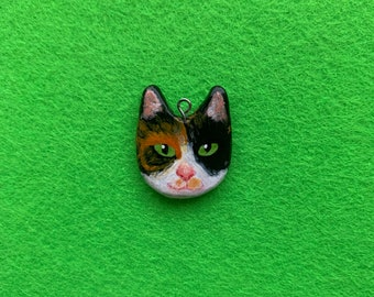 personalised custom handmade cat necklace