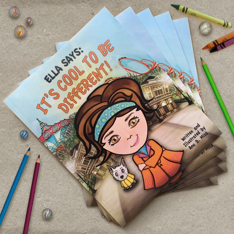 Ella Says: It's Cool to be Different Childrens book image 0