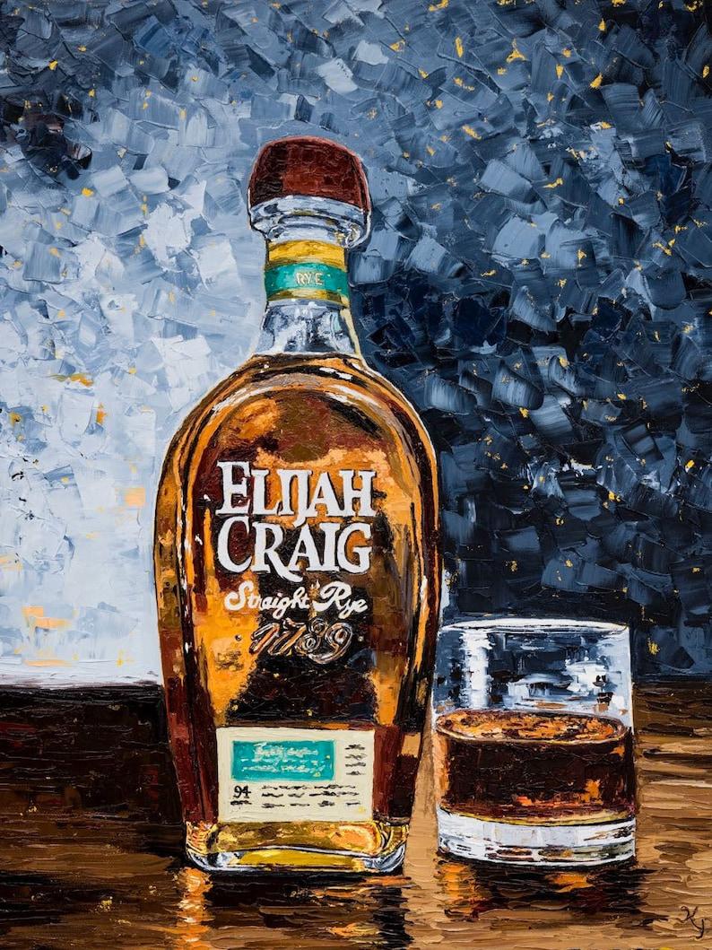 Bourbon Print Elijah Craig