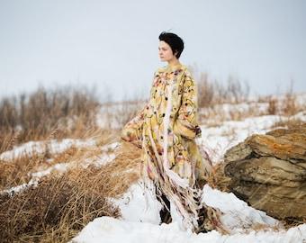 Felted Wool Handmade Ancestral Jacket