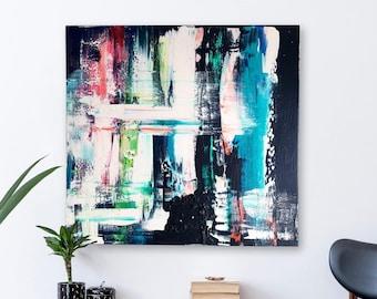 Dark Happiness on Canvas