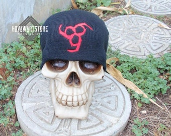 666 Patch Slouch Beanie
