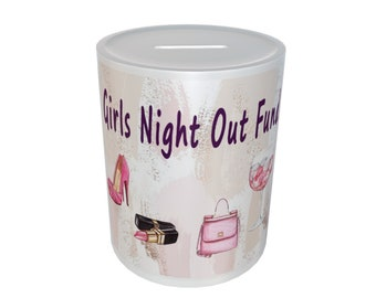 Girls Night Out Ceramic Money Box Gift