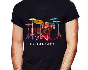 Taking A Break From Playing My Drum Kit Men/'s Unisex T-SHIRT Drumming Drummer