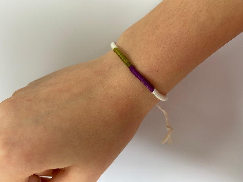 Handmade Wrap Adjustable Friendship Bracelet