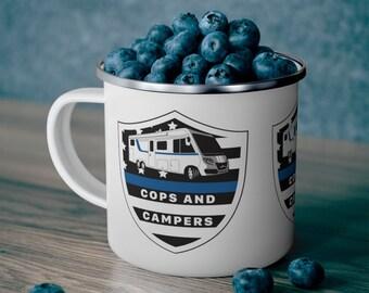 1 Enamel Camping Mug