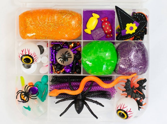 Halloween Play dough kit