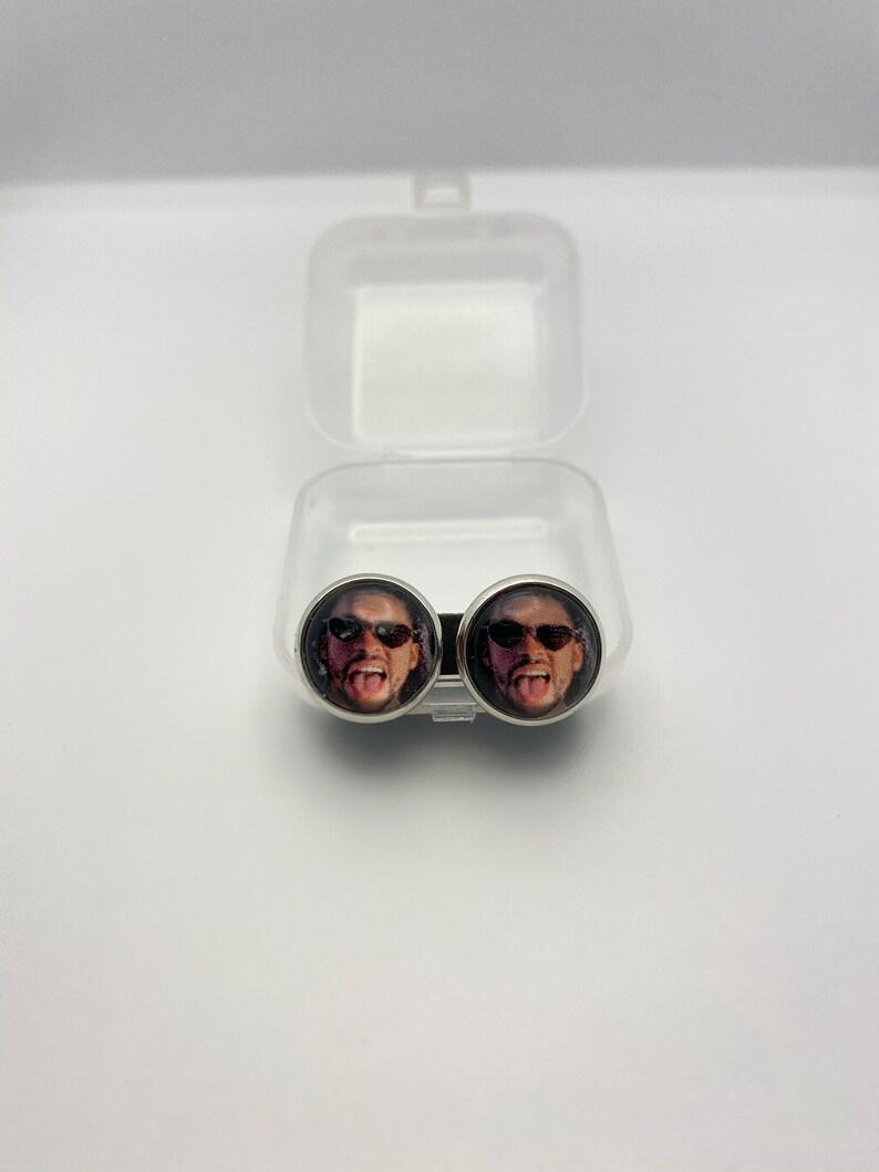 BAD BUNNY Stud earrings