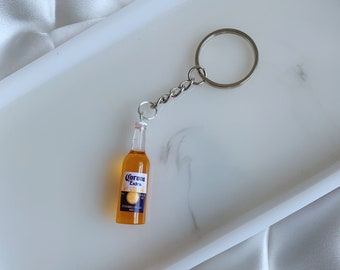 Beer Lover Gift American Beer Keychain Topochico USA Beer Bottle Keychain