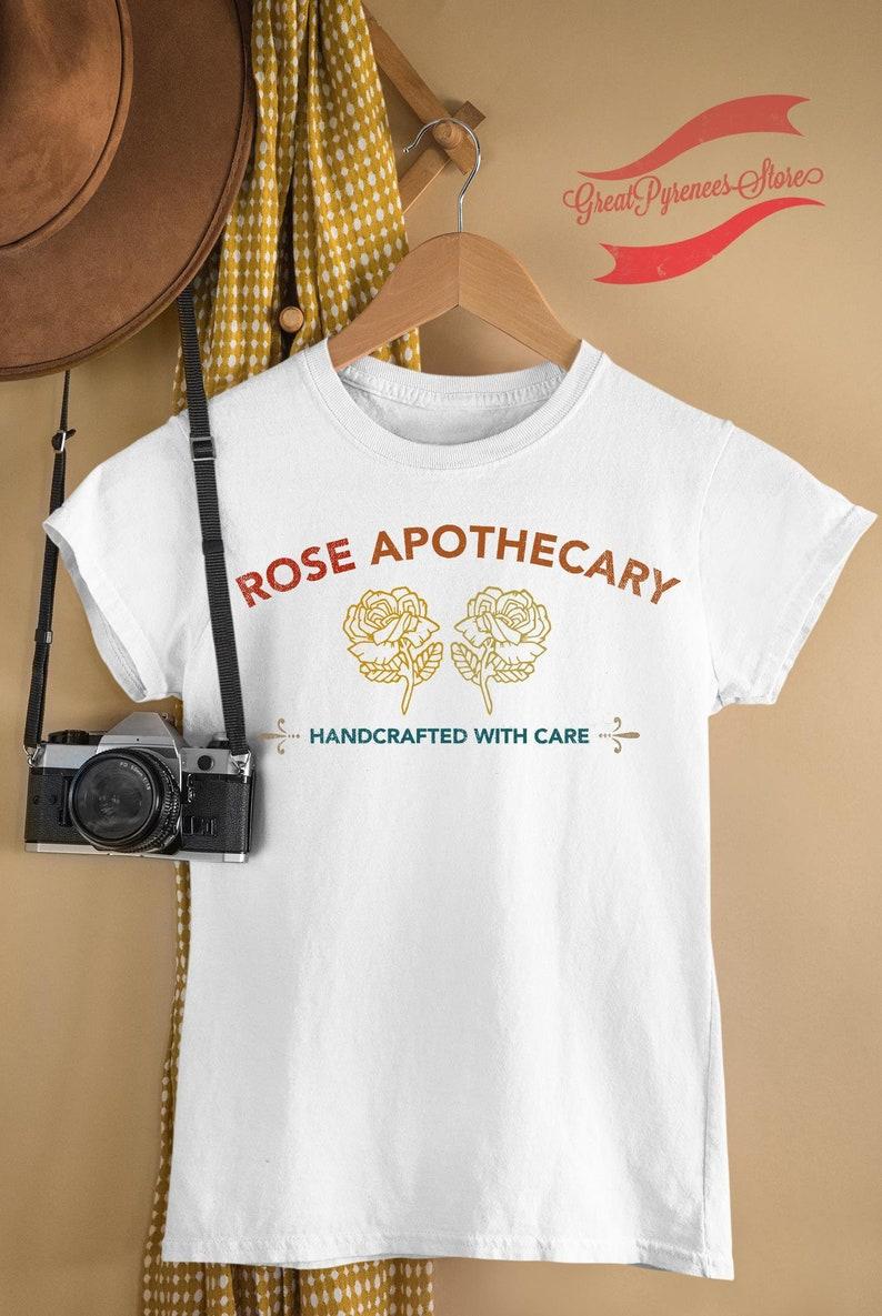 Ew David Locally Sourced Hand Crafted With Care Rose Apothecary Shirt David Rose Shirt,Schitt Creek Shirt,Rosebud Motel Moira Rose Shirt