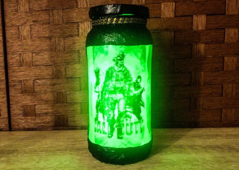 5. Call of Duty Modern Warfare LED light in green