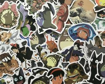 Studio Ghibli Vinyl Waterproof Stickers!