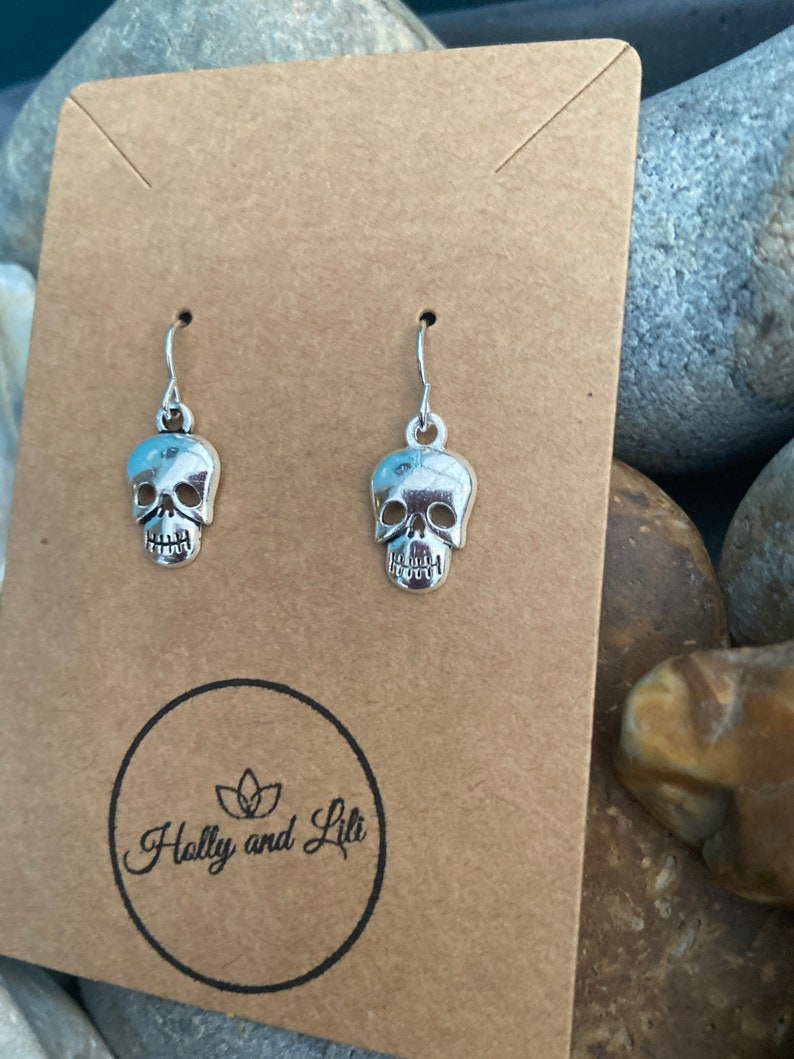 Or personalise your earrings... Included In Our Offer 3 X Pairs For 9.99 Skull Novelty Earrings..