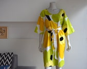 Women 39 s dress made from original Marimekko quot Unikko quot fabric.