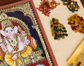 for larger paintings art supply 5 to 7mm 700 pack Tanjore Painting Stones