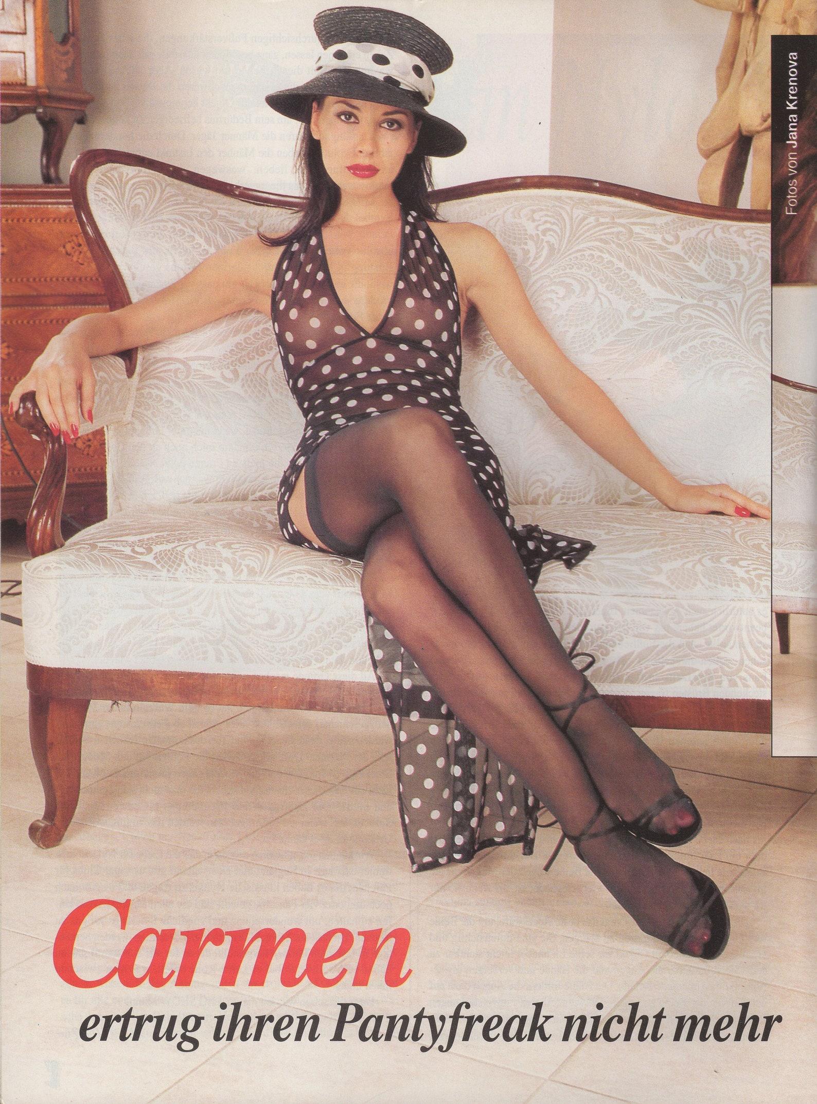 LEG SHOW Magazin Nr. 42 2000 / German Edition / Erotik Akt
