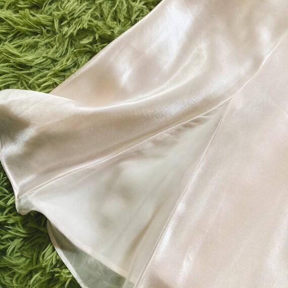 Vintage Peach/Rose Slip Dress 80s Fairycore Cotta… - image 3