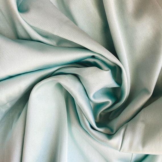 Vintage Half Slip Skirt 70s Tiffany Blue Fairycor… - image 3
