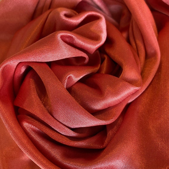 Vintage Coral Pink Slip Dress  70s Fairycore Cott… - image 2