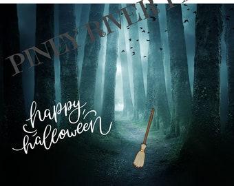 Halloween Spooky Digital Card