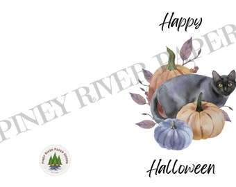 Happy Halloween Digital Card