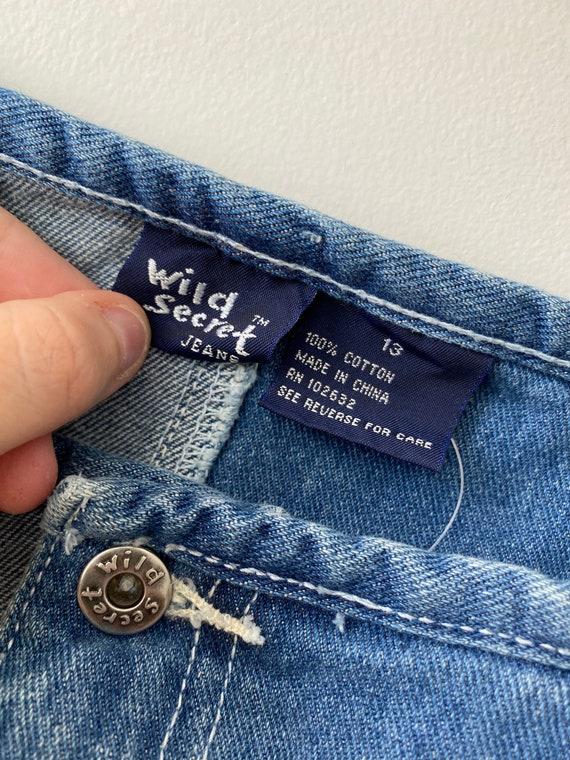 Size L 13 Y2k denim mini skirt, y2k clothes for w… - image 4